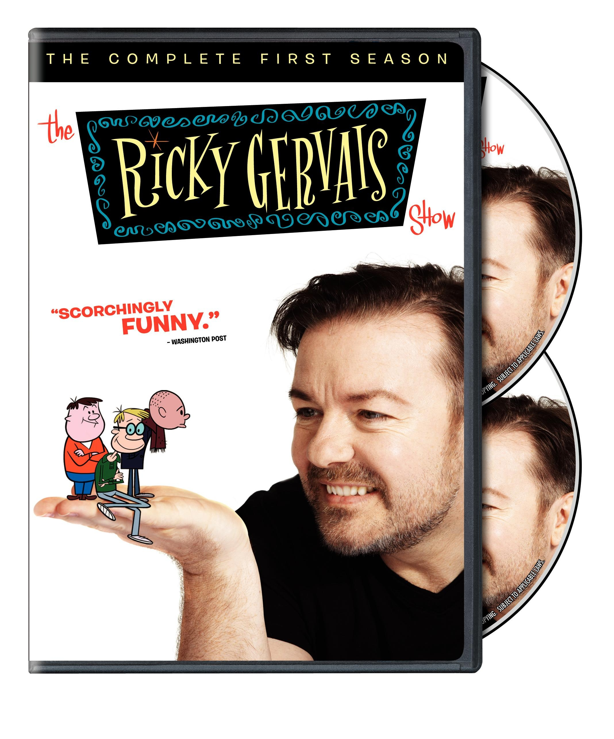 kpontv on the ricky gervais show: season 1 dvd Â« thetwocents
