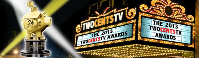 TWO CENTS TV AWARDS MARQUEE BANNER